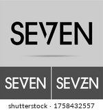 Seven Logo  Numeral And Word...
