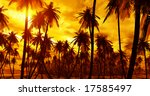 tropical island | Shutterstock . vector #17585497