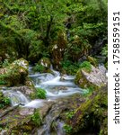 Stream Of Emerald Blue Water...