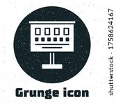 Grunge Eye Test Chart Icon...