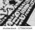 Abstract City Shadows And...