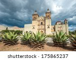church of santo domingo de... | Shutterstock . vector #175865237