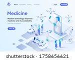 modern medicine isometric...