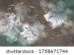 3d Illustration  Large Abstract ...