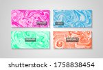 colorful swirling painting...   Shutterstock .eps vector #1758838454