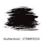 vector brushstroke background ... | Shutterstock .eps vector #1758895214