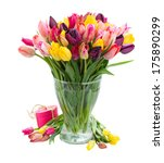 bunch of fresh spring colorful  ... | Shutterstock . vector #175890299