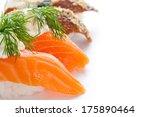sushi closeup | Shutterstock . vector #175890464