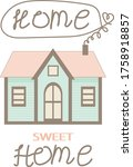 Home Sweet Home Cozy Pastel...