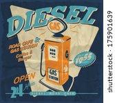 vector illustration.gas station ...   Shutterstock .eps vector #175901639