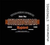 worldwide division streetwear... | Shutterstock .eps vector #1759035431