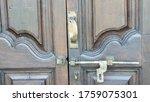 Antique Wooden Door Bolts That...