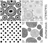 hand drawn seamless vector set   Shutterstock .eps vector #175907951