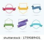 design vector set of badge....   Shutterstock .eps vector #1759089431