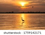 Sunset At Siesta Key Beach With ...