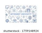 vector internet security... | Shutterstock .eps vector #1759148924