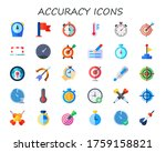 modern simple set of accuracy... | Shutterstock .eps vector #1759158821