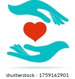 volunteer donation or... | Shutterstock .eps vector #1759162901