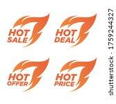 promotion banner  promotion tag ... | Shutterstock .eps vector #1759244327