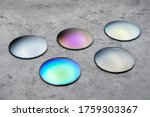 Close Up Of Optical Lenses For...