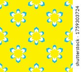 seamless pattern with a... | Shutterstock .eps vector #1759303724