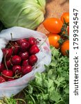 organic fresh raw vegetables... | Shutterstock . vector #1759324547