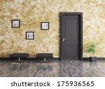 Interior Of A Room With Door...