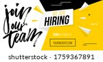 We Are Hiring  Join Our Team...