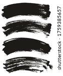 flat paint brush thin long...   Shutterstock .eps vector #1759385657