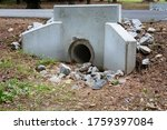 Precast Concrete Headwall For...