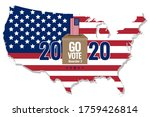 go vote on november 3 ... | Shutterstock .eps vector #1759426814