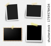 photo frame collection with... | Shutterstock .eps vector #1759578434