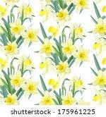 Seamless Pattern Lush Yellow...