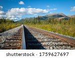 Train Tracks Running Through...