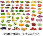 collection of vegetables and... | Shutterstock . vector #1759634714