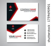 modern business creative card...