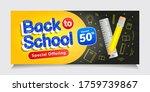 back to school special offering ... | Shutterstock .eps vector #1759739867
