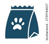 high quality dark blue flat pet ... | Shutterstock . vector #1759764017