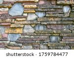 Medieval Stone Wall Textured...