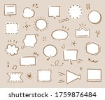 this is handwriting... | Shutterstock .eps vector #1759876484