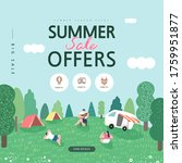 summer shopping event... | Shutterstock .eps vector #1759951877