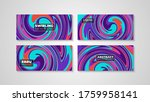 colorful swirling painting...   Shutterstock .eps vector #1759958141