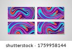colorful swirling painting...   Shutterstock .eps vector #1759958144