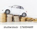 car costs  | Shutterstock . vector #176004689