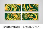 colorful swirling painting...   Shutterstock .eps vector #1760072714
