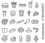 vector food illustrations....   Shutterstock .eps vector #1760104937