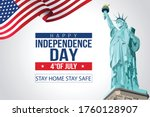 independence day. poster. the... | Shutterstock .eps vector #1760128907