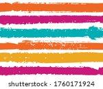 horizontal ink lines paint... | Shutterstock .eps vector #1760171924