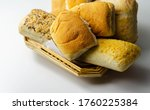 Various Types Of Bread Served...