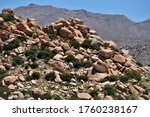 Rocks On A Hillside In San...